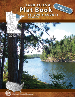 2012 North Land Atlas and Plat Book - St. Louis County