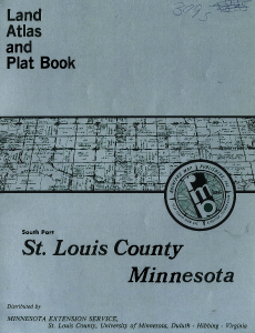 1987 Plat Book- St. Louis County