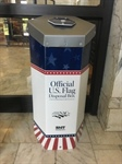 Flag disposal boxes now offered at two County buildings