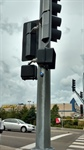 Blue lights added to help make intersections safer