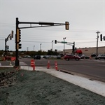 Signal work begins Tuesday at intersection of Haines Road and Mall Drive/Market Street