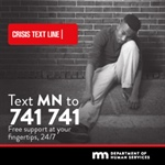 Crisis Text Line now available