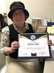 Volunteer genealogist earns state recognition